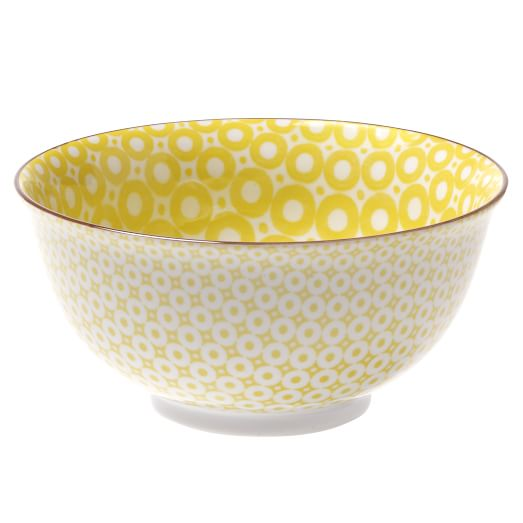 Modernist Bowls, Yellow