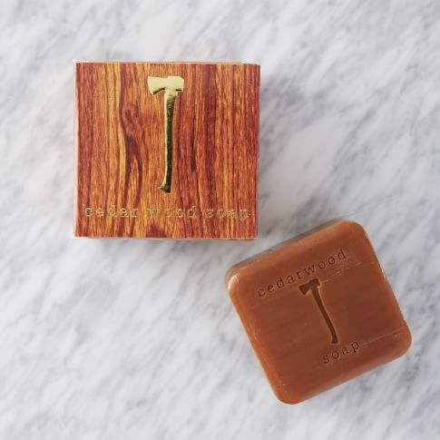 Cedarwood Soap, Brown