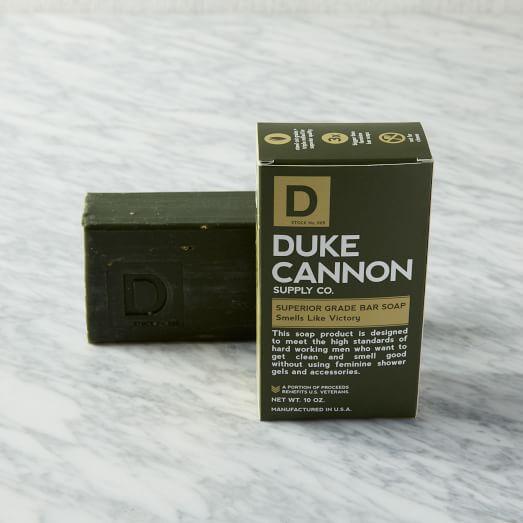 Duke Cannon Superior Grade Soap, Sea Grass, Victory