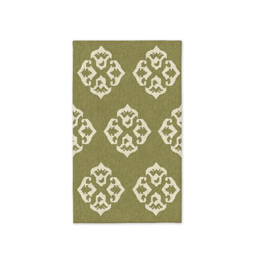 Andalusia Wool Dhurrie - Pear