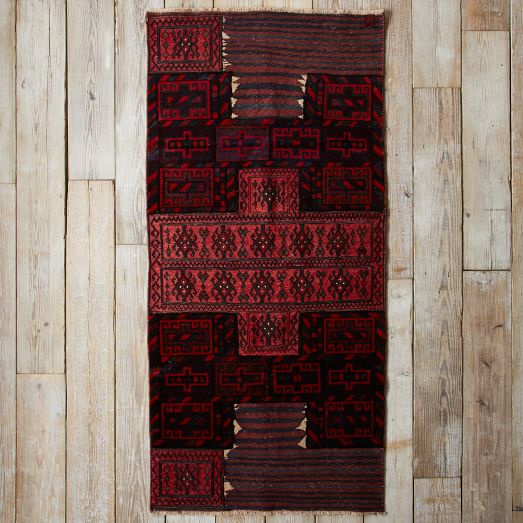 Assorted Turkish Rugs - Red Cross, 7.5x4