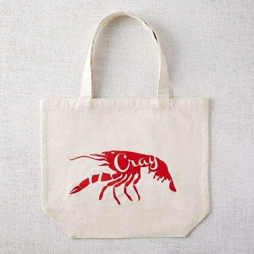 Market Tote Bag, Cray