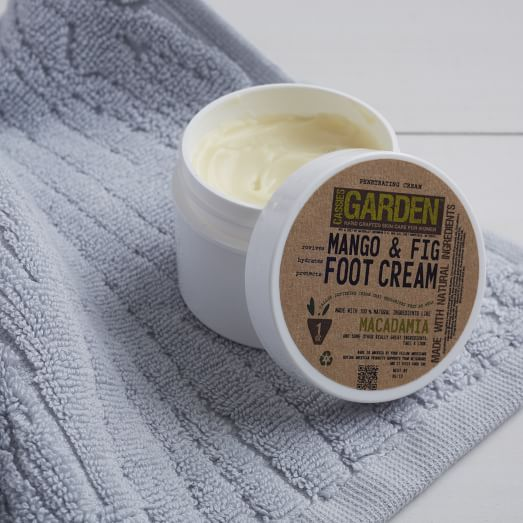 Cassie's Garden, Mango + Fig Foot Cream