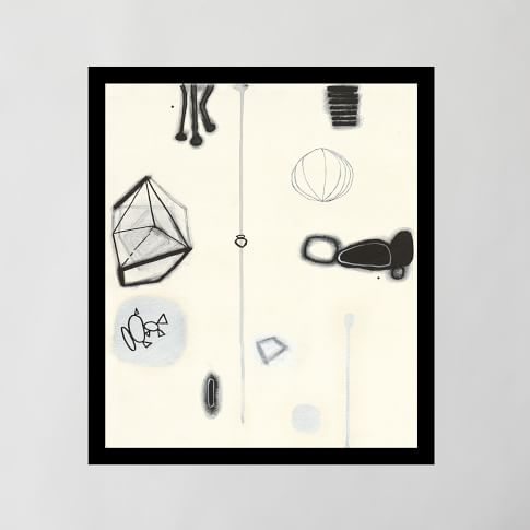 Framed Print, Aesthetic III