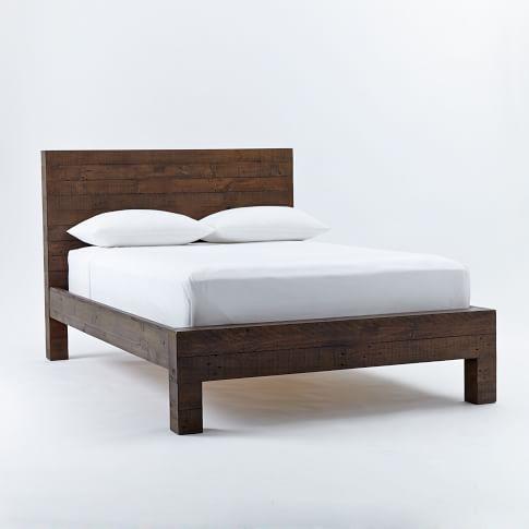 Emmerson Bed Set, Full, Chestnut