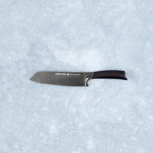 Schmidt Brothers Titanium Cutlery, Santoku Knife
