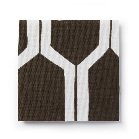 Upholstery Fabric by the Yard, Honeycomb, Sable
