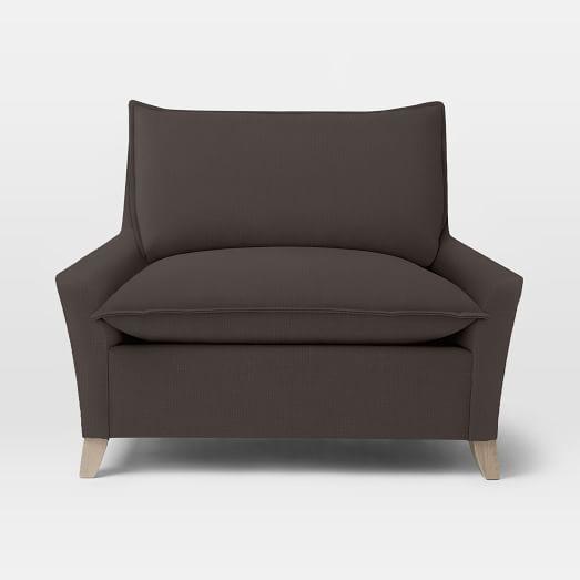 Bliss Chair + A Half, Basketweave, Iron