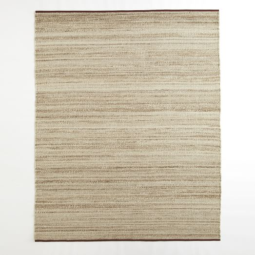 Steven Alan Tweed Wool Rug, 9'x12, Oatmeal