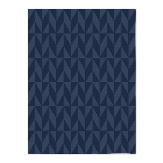 Andes Wool Rug - Midnight
