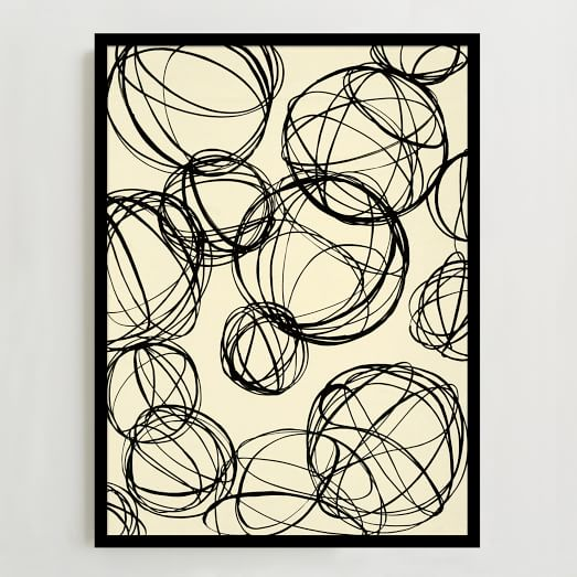 WE Print Collection, Spheres Sketches