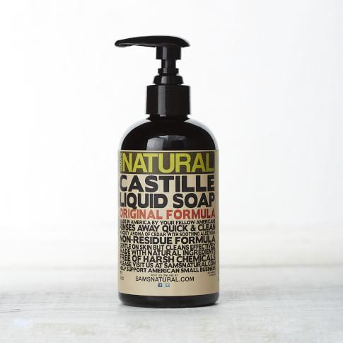 Sam's Natural, Liquid Castile Soap, Original Cedar