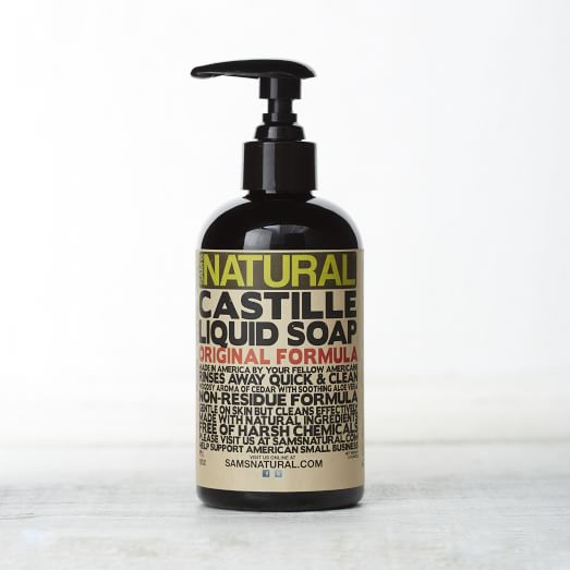 Sam's Natural, Liquid Castile Soap, Original Cedar