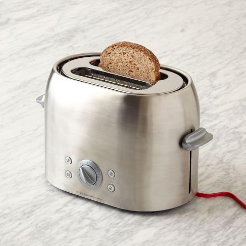 Universal Expert, 2-Slice Toaster, Stainless Steel