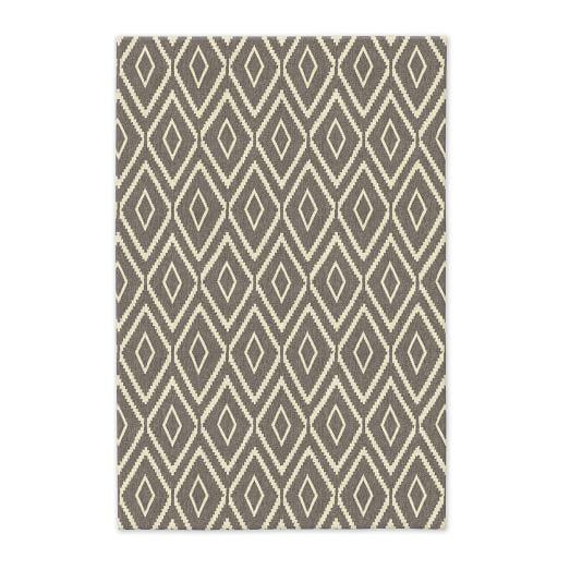 Kite Wool Kilim - Platinum