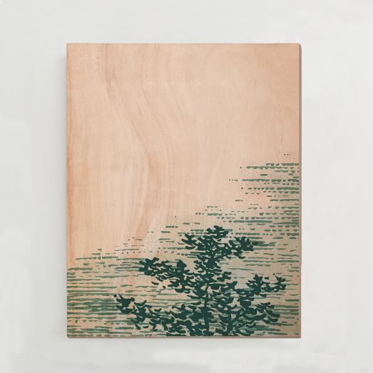 WE Print Collection, Tree top I