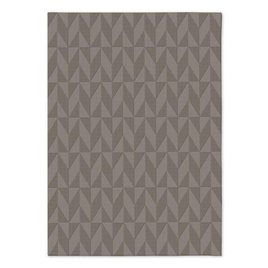 Andes Wool Rug - Platinum