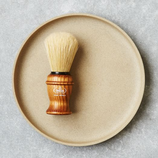 Omega Wooden Shaving Brush