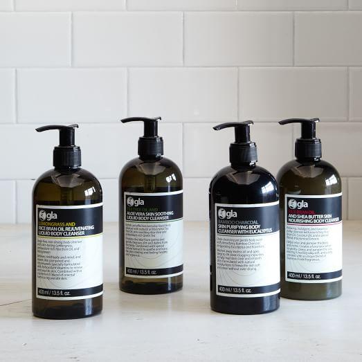 Gla Nature, Bodywash, Bamboo Charcoal, 13.5 fluid oz.
