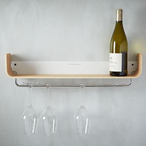 Universal Expert Beech Wood Shelf, Wine Rack