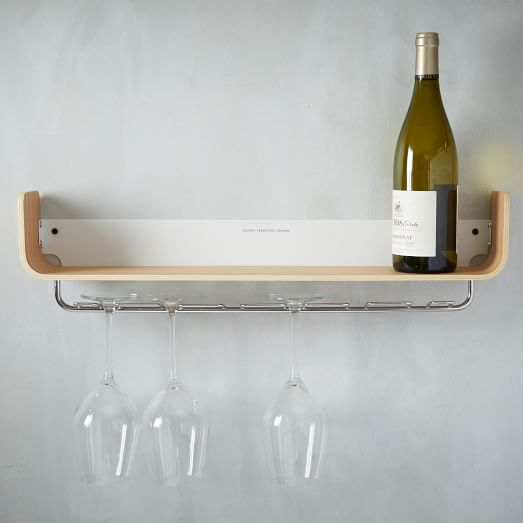 Universal Expert Beech Wood Shelf, Wine Rack