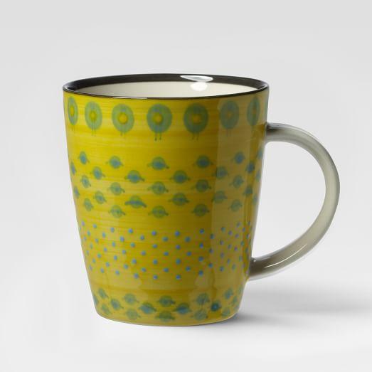Potter's Workshop Mug, Yellow Pods
