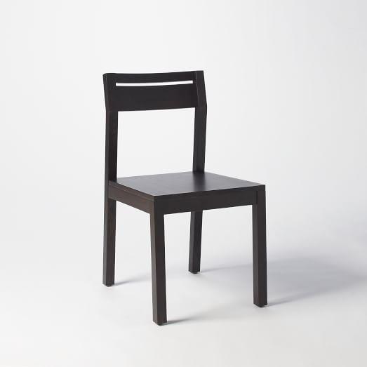 Tilt Dining Chair, Chocolate, Set of 4