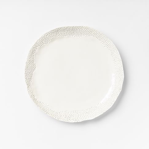 DBO Home Pomegranate Serveware, White, Charger