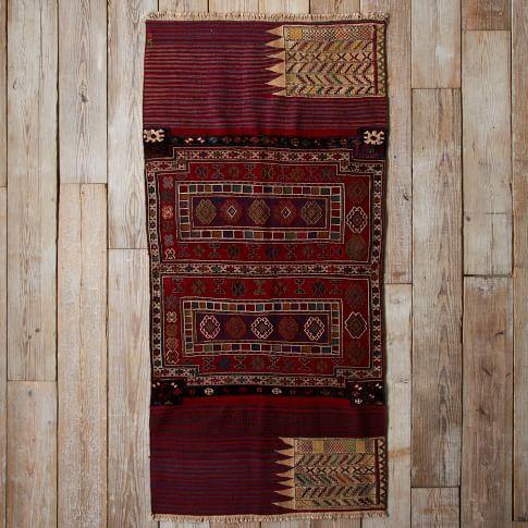 Assorted Turkish Rugs - Multi Pattern Border, 7.5x4