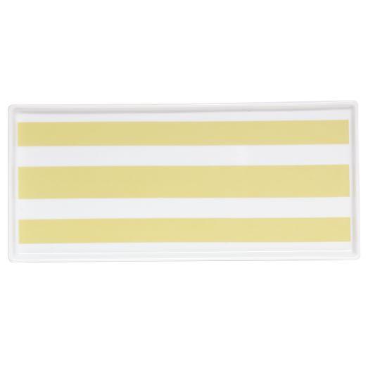 Porcelain Stripe Tray, 11