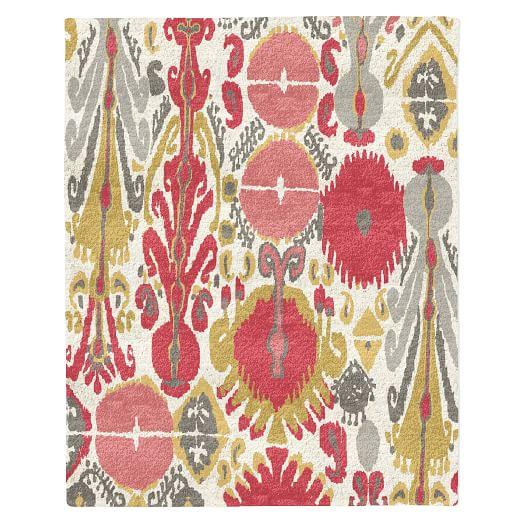 Summer Ikat Special Order Wool Rug