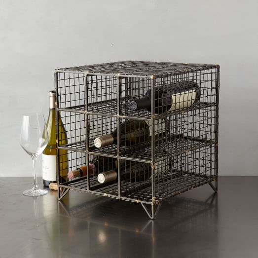 Wire Wine Rack, Large