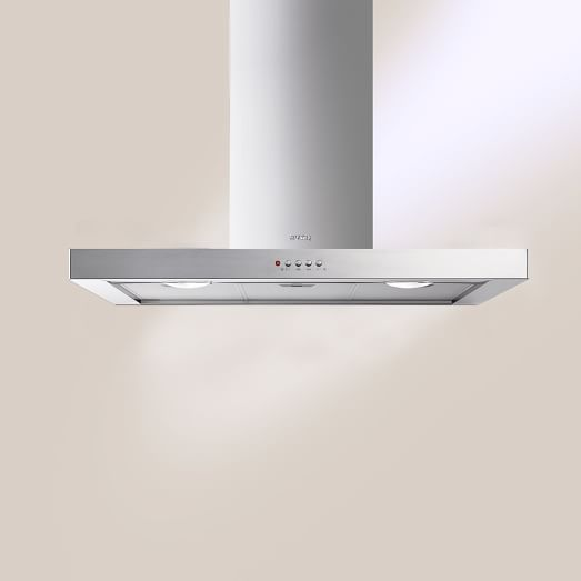 Smeg Wall Mounted Hood, Stainless Steel, 36