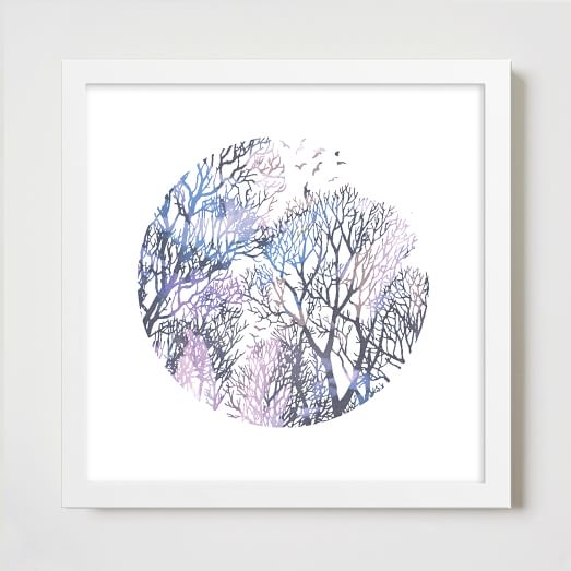 Minted for West Elm, Tree Top Snapshot