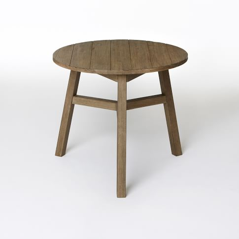 Bistro Dining Table, Driftwood