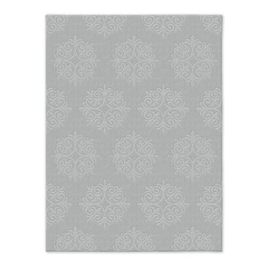 Emblem Wool Rug - Platinum