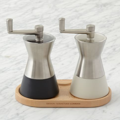 Universal Expert Cooking Tools, Pepper + Salt Mill Set