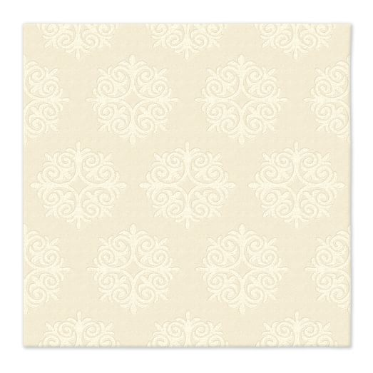 Emblem Wool Rug - Ivory