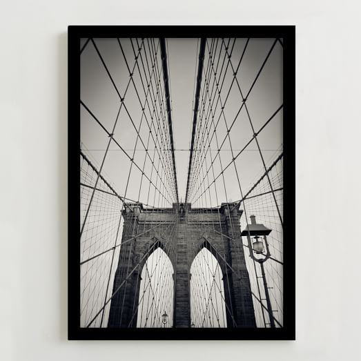 WE Print Collection, Brooklyn Bridge