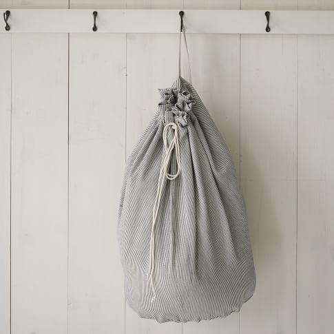 Laundry Bag, Railroad Stripe