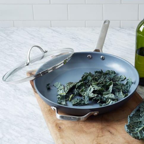 Greenpan Hard Anodized Nonstick Cookware, 12