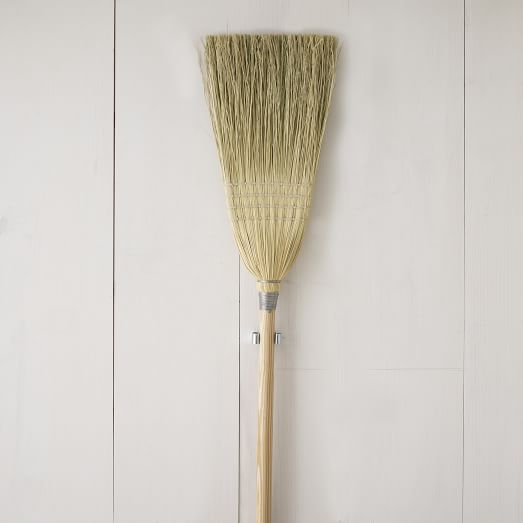 Berea College Straw Broom, Natural