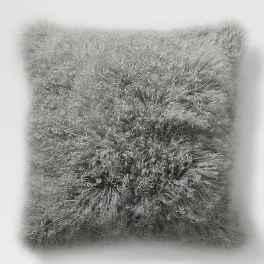 Mongolian Lamb Pillow Cover, 24