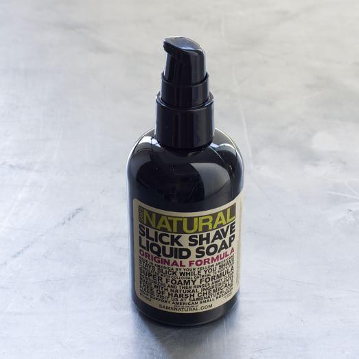 Sam's Natural, Slick Shave Liquid Soap, 4 oz