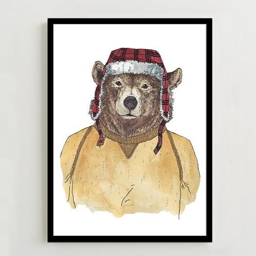 Rachel Kozlowski Bear Print