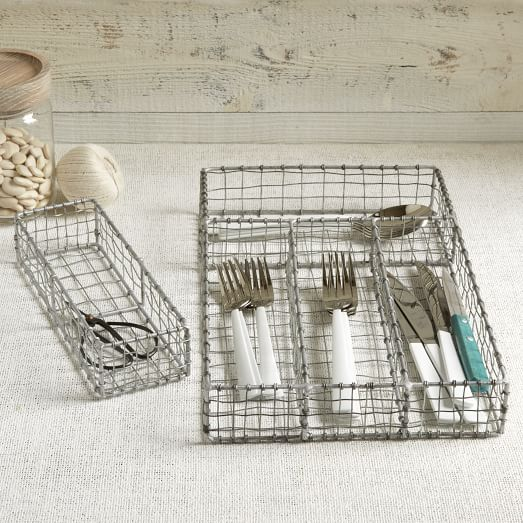 Wire Mesh Utility Drawer Divider