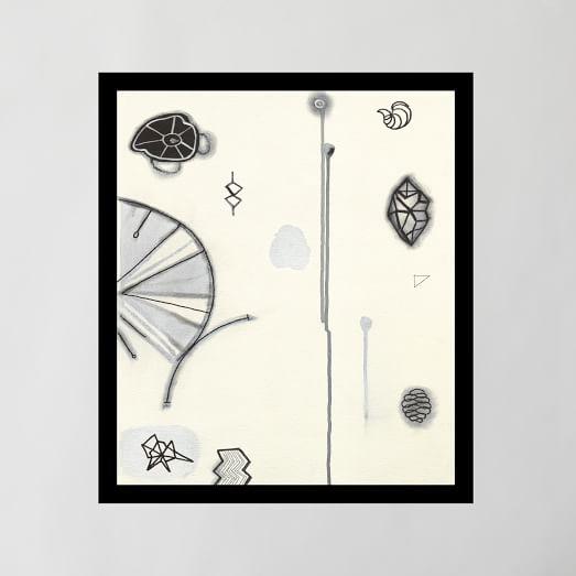 Framed Print, Aesthetic IV