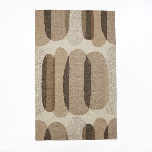 Cobblestone Rug, 5'x8', Natural