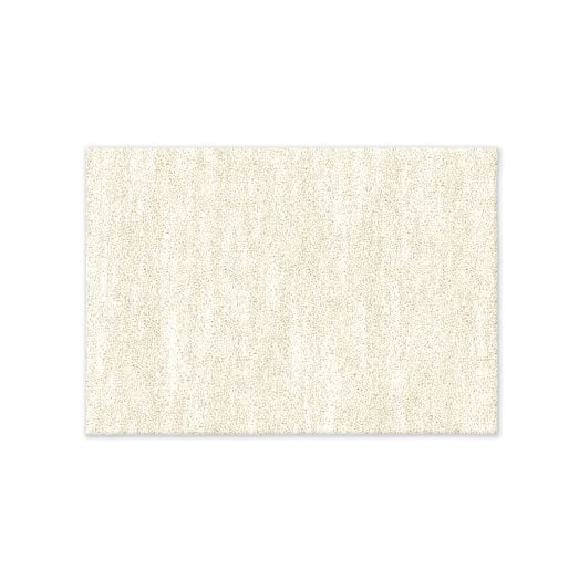 SPO Watercolor Solid Rug, Ivory, 2'x3'
