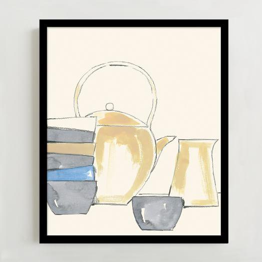 WE Print Collection, Tea Pot
